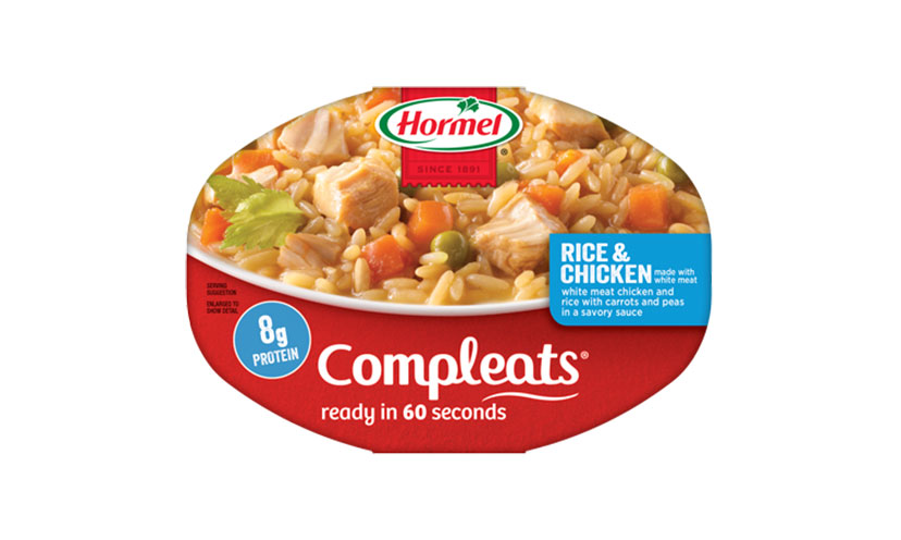 Get a FREE Hormel Compleats Meal at Kroger!