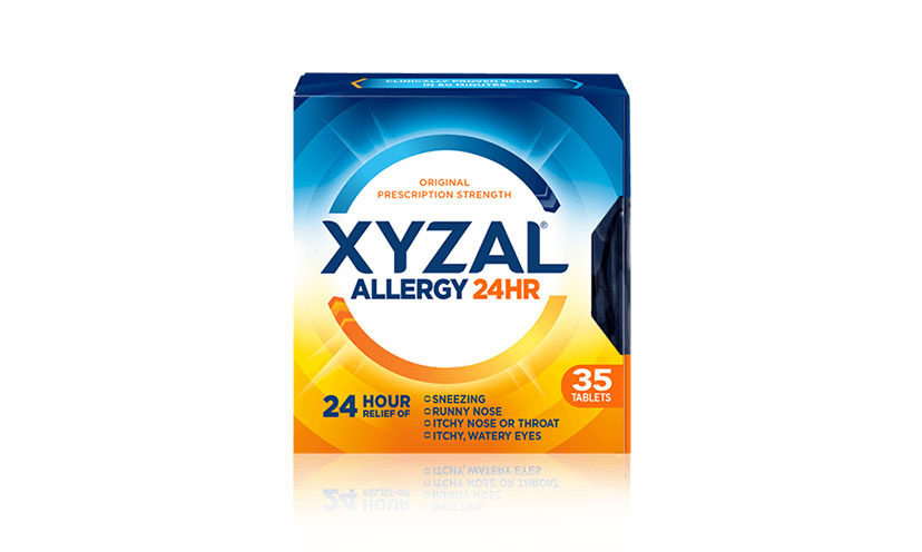 Save $2.00 on a Xyzal Allergy 24 Hour Product!