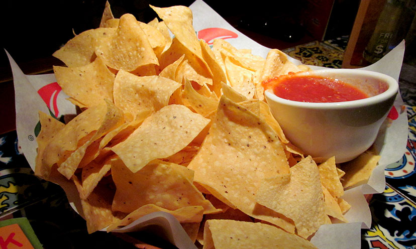 Get a FREE Chips and Salsa or Beverage at Chili's!