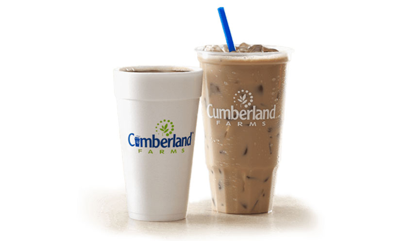 Get Any Size FREE Coffee Every Friday in October at Cumberland Farms!