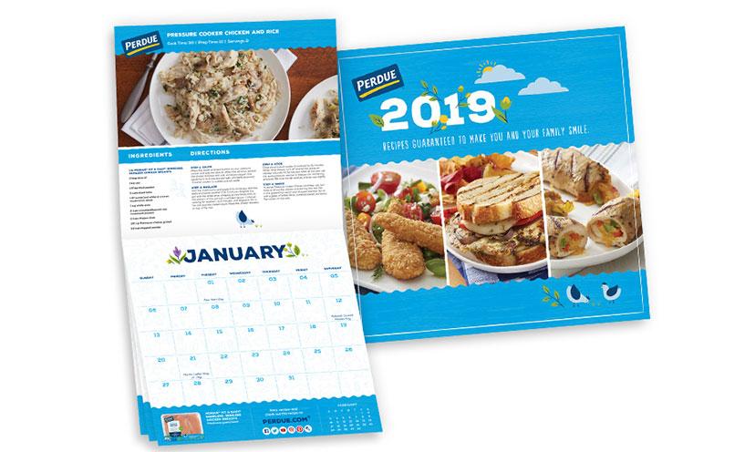 Get A Free 2019 Perdue Chicken Recipe Calendar Get It Free
