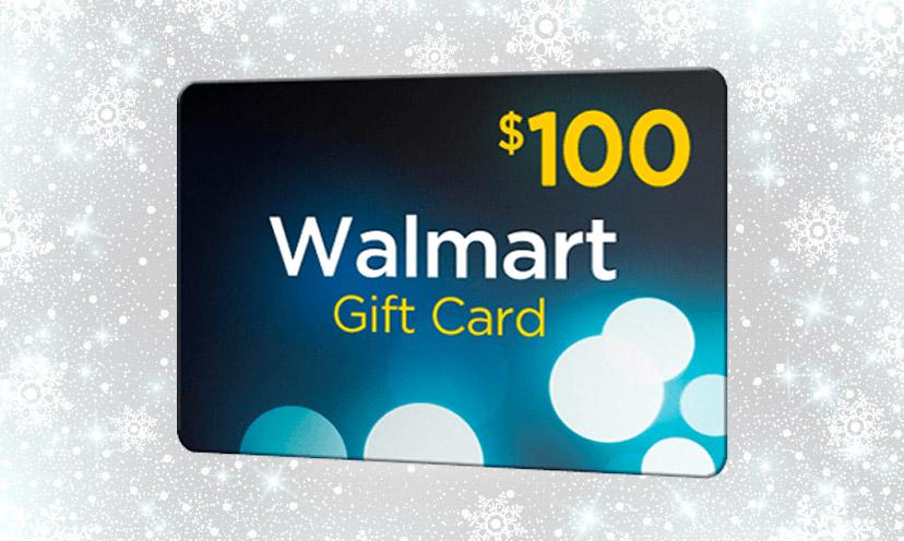 Get A 100 Walmart Gift Card Get It Free