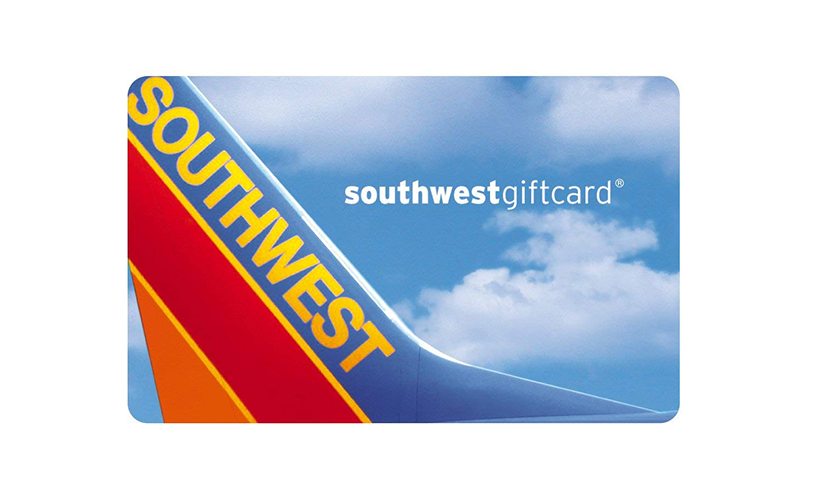 southwest gift card win enter chance