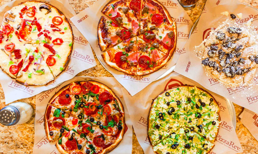 Get a FREE Kids Pizza, Drink, and Dessert From PizzaRev